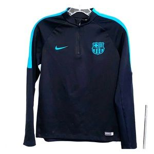 Arrive in style Boys FC Barcelona 1/4. - XL